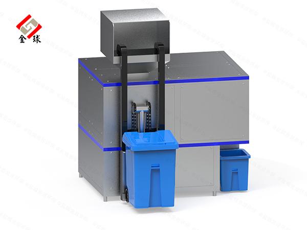 5吨机械式餐饮垃圾减量处理机器使用方式