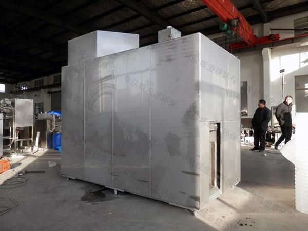 日处理5吨多功能餐饮垃圾减量处理机器处理方法