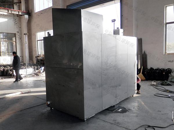 饭堂地面式自动提升隔油器起什么作用