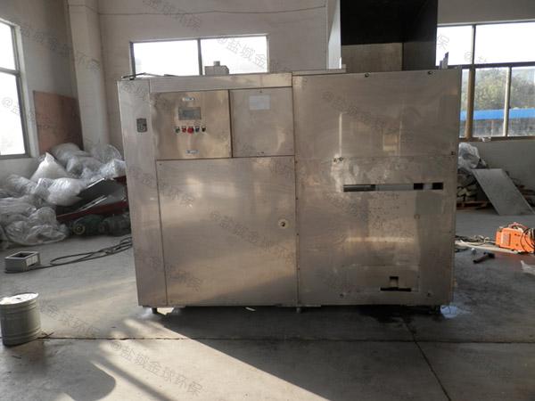 工厂食堂地上式组合式隔油器如果安装