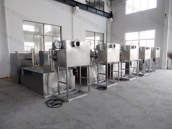 工地不锈钢组合式一体化隔油设备如何选型
