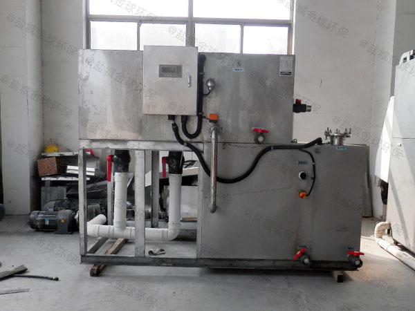 工厂食堂中小型智能隔油污水提升设备什么牌子好