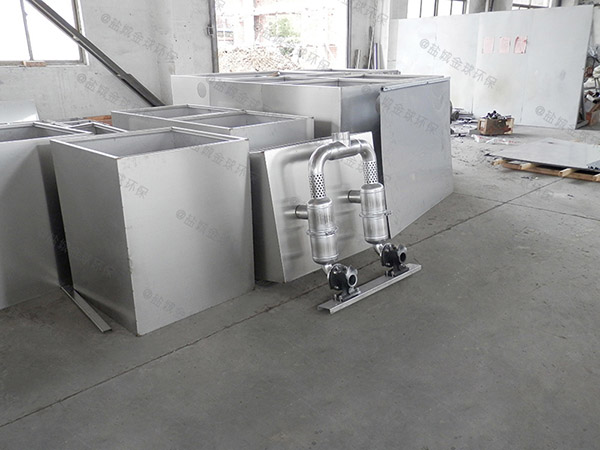 学校室外移动一体化隔油提升设备技术参数