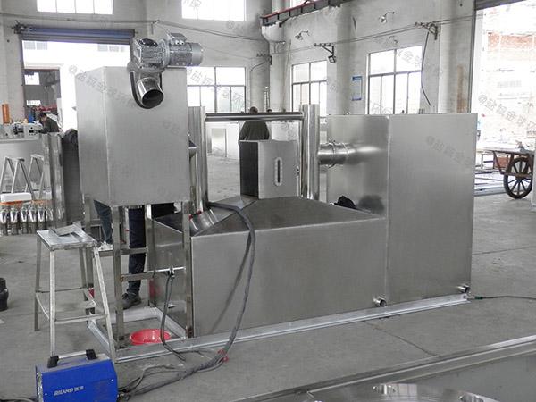 饮食业地上移动式污水处理设备厂家价格