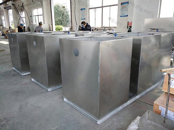 商城埋地式机械排污提升装置维护