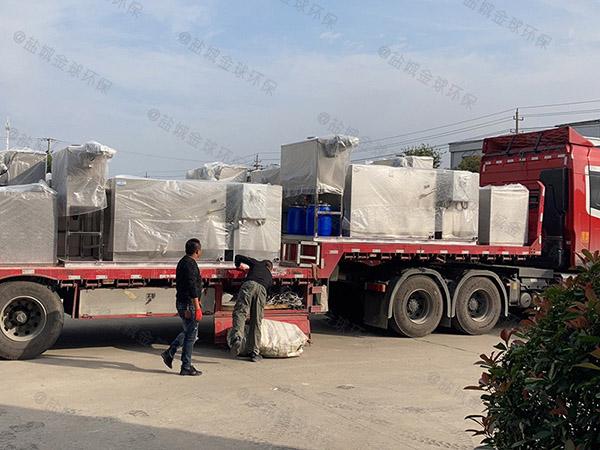 生活埋地式机械油脂分离设备生产商