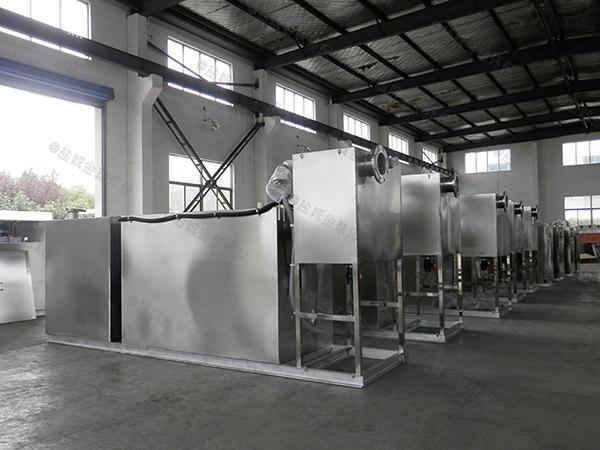 饮食业地面式简单油水分离净化器改造厂家