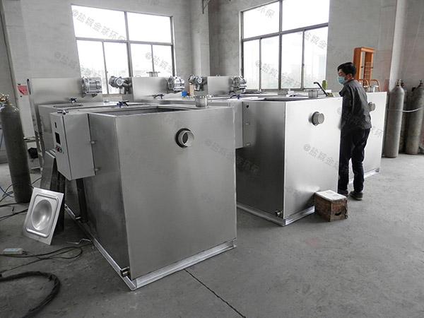 食堂用地面式机械油脂分离设备供货商