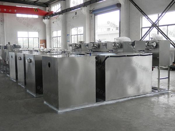 商用地下式移动式隔油污水提升设备技术参数