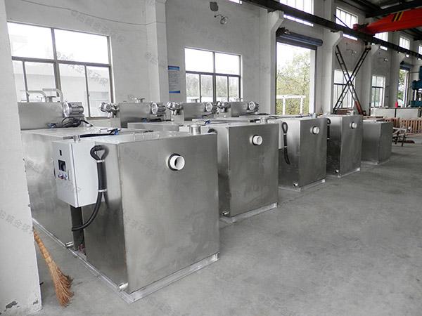 商城埋地简单油水处理设备安装