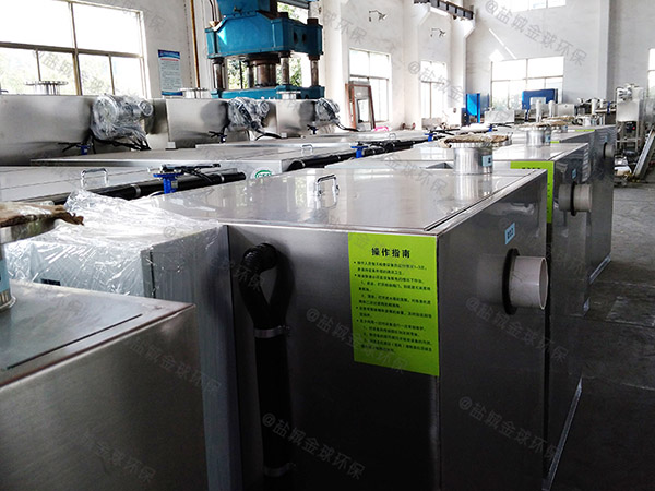 商城室外移动式隔油污水提升设备改造