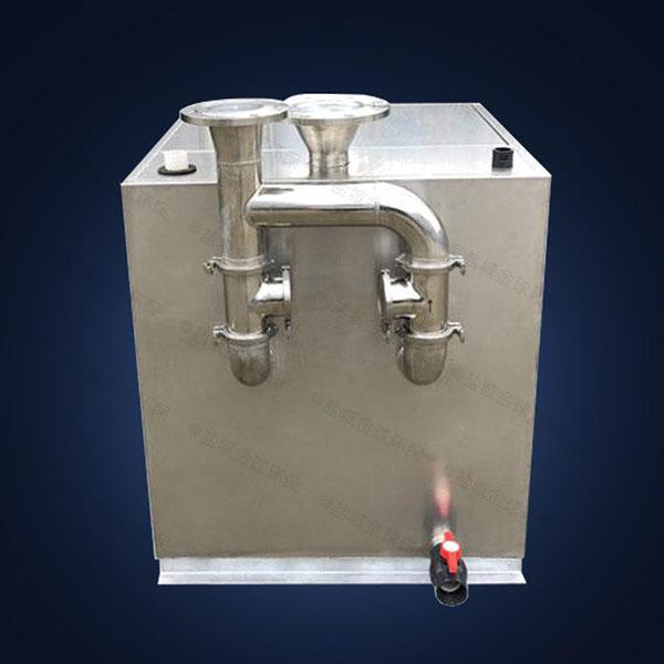 侧排式马桶外置污水隔油提升器有哪几种