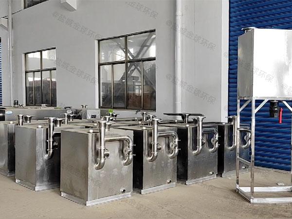 小区地下室公用污水隔油提升器安装说明