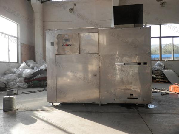 大中型环保餐饮垃圾处理设备一体机不能处理的东西