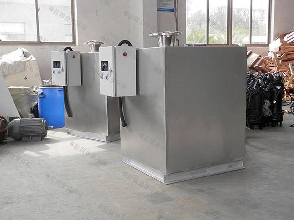 地下卫生间密闭式污水隔油提升器费电么