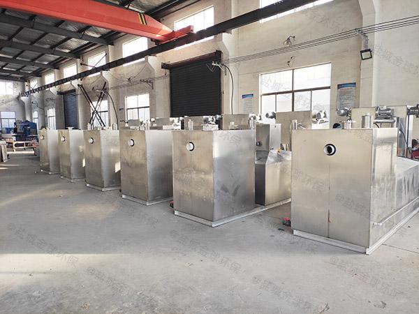 饮食业埋地机械隔油污水提升设备工厂