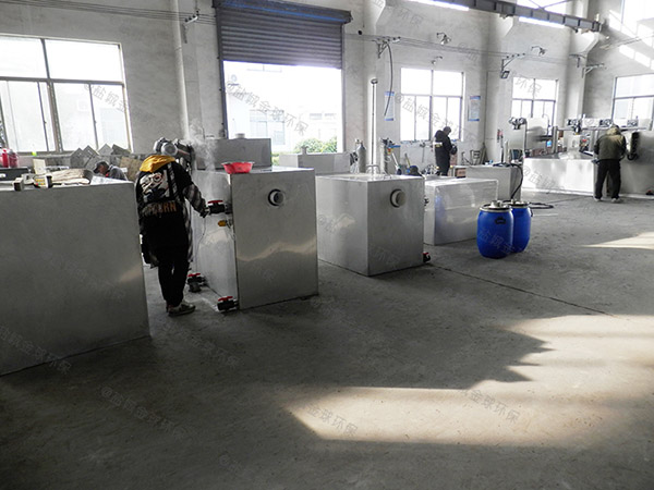商城地下式全能型隔油污水提升设备安装维护