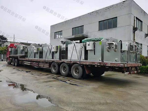 商业室内机械一体化隔油提升设备制造标准