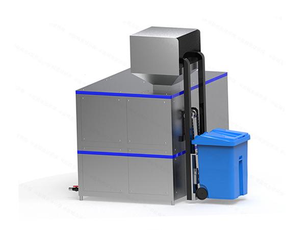 日处理5吨自动上料餐厨垃圾压缩设备厂