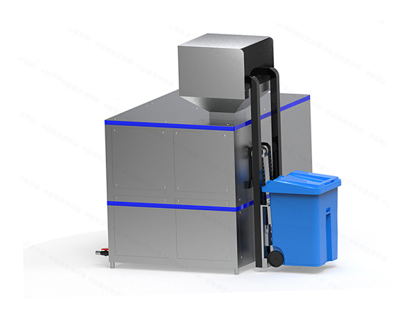 日处理5吨智能餐厨垃圾处理一体机对环境的影响