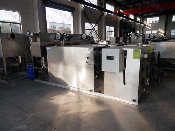 生活地下室移动式油脂分离器工厂