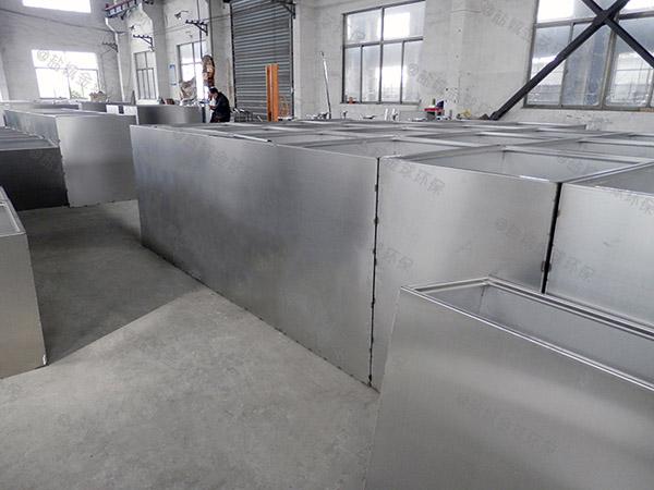 商业埋地式多功能油脂分离器CAD图纸