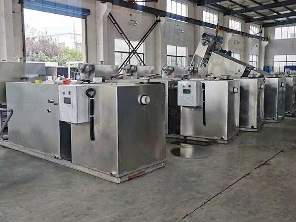 商业地下式移动一体化隔油提升设备定制