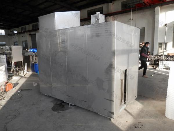 5吨机械式餐厨垃圾油水分离一体机结构