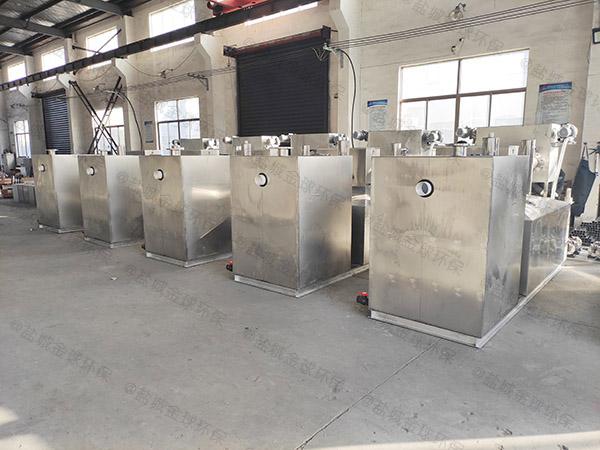 商城地下机械隔油污水提升设备安装