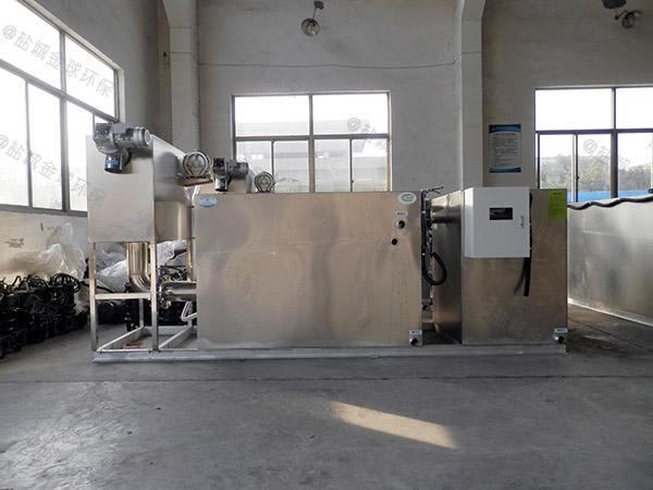 小区地上式全自动智能型油脂分离器公司