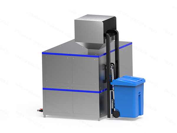 小型自动化厨余垃圾一体化处理设备使用情况