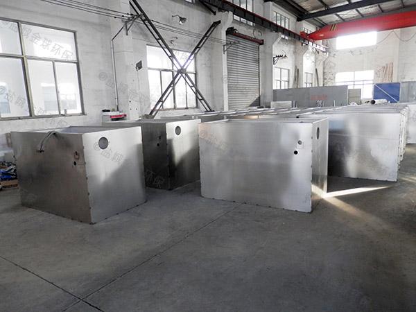 商家埋地式机械餐厨垃圾处理一体机研发