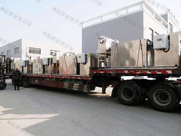 食堂用地面式移动餐厨垃圾处理设备供货厂家
