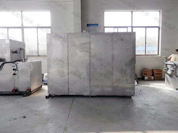 10吨多功能餐厨垃圾预处理机器作用