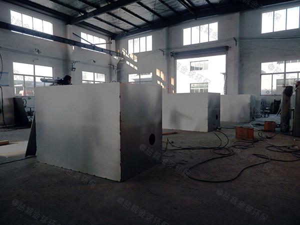 商用地下室多功能隔油装置安装维护