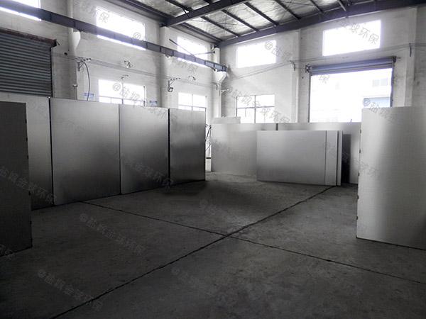生活地下室半自动油水处理设备加工厂