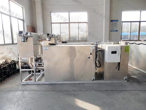 饮食业地下机械油脂分离机改造