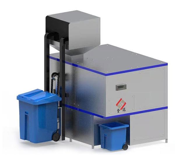 大小型机械式餐厨垃圾处理器原理图