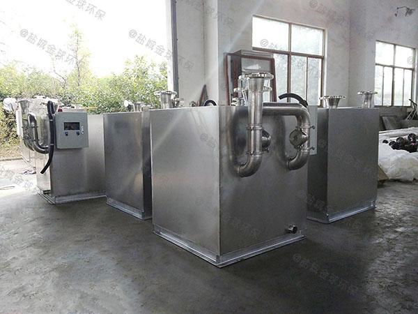 负一层平地式和深坑式污水排放提升设备排污管用多大