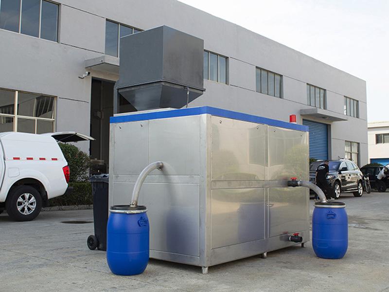 20吨商用餐饮垃圾处理成套机案例