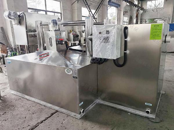 室内自动化餐饮油污水分离器作用