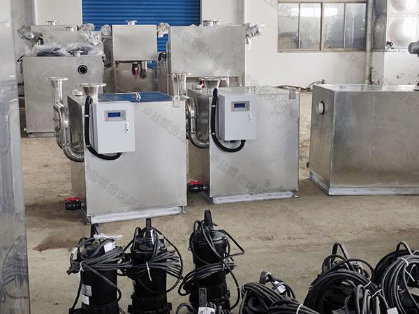 商品房地下室排水污水隔油提升器的浮球怎么样拆装