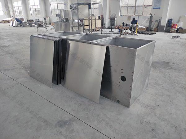 室外自动化食堂油污水分离器选型