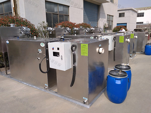 地埋加热型食堂油水分离器图纸