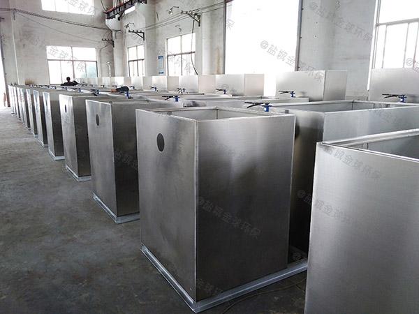 埋地式自动排水食堂油污水分离装置厂家