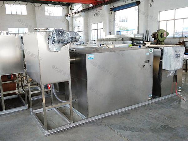 地上式自动餐厨油水分离器厂家联系方式