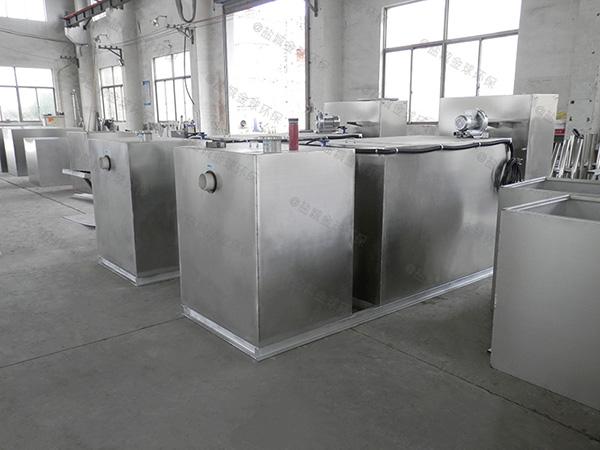 地下室自动排水厨房垃圾油水分离使用说明
