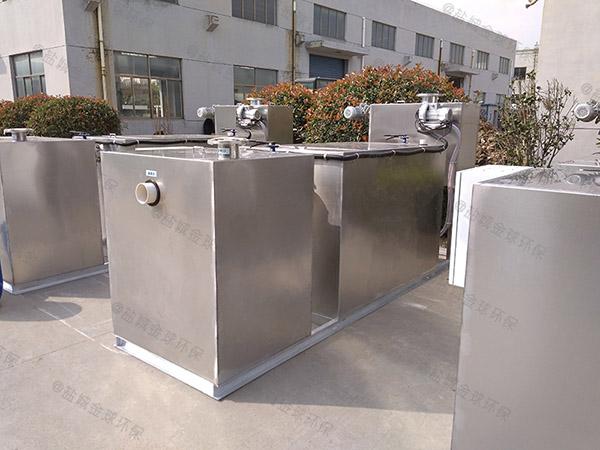 埋地式自动排水餐厅垃圾油水分离处理设备规格