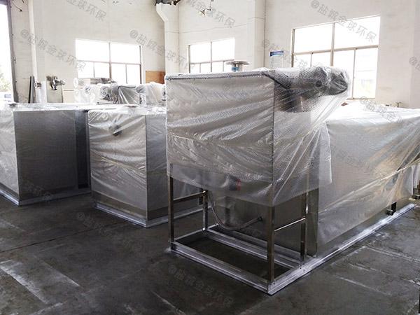 地上式自动餐厅油水分离装置型号
