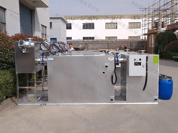 地埋加热型厨房垃圾油水分离处理设备尺寸